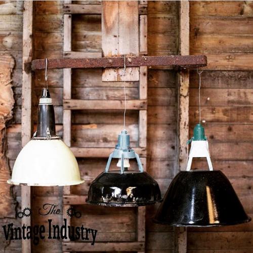 Vintagindustry lampen
